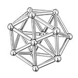 Best Magnetic Paint - HITSAN INCORPORATION 63Pcs Neodymium Magnetic Bars Metal Balls Review