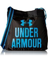 Under Armour - Damas Multisport Crossbody Bolsa, Negro, 42 x 36 x 8 cm, 11,5 litros, 1275230-5