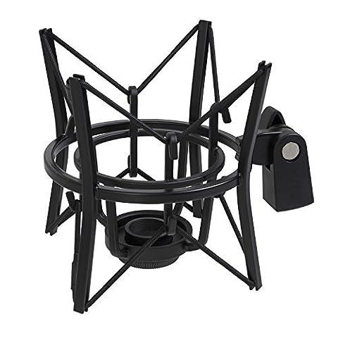 LyxPro Studio Condenser Spider Shockmount-Black