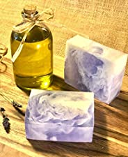VEGAN Soap Bar - LAVENDER with essential oils, Handmade