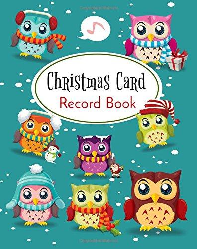 Christmas Card Record Book: Address Book For Christmas Cards (Send & Receive)(V1)