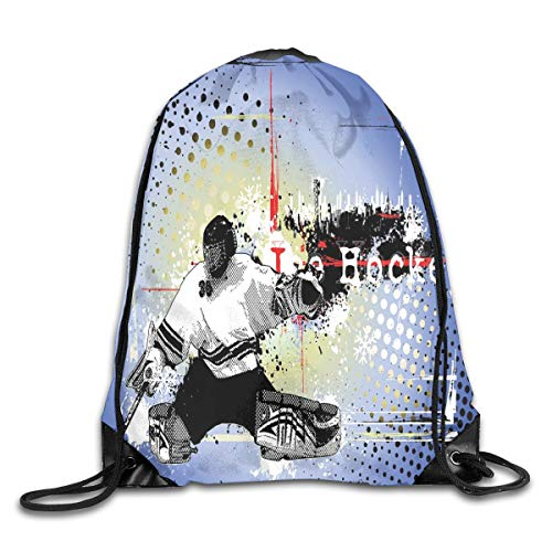 Hockey Queen Size Duvet Cover Set, Photo Of A Sports Arena Full Of People Fans Audience Tournament Championship Match,Multicolor_2Sport Yoga bag