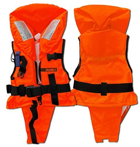Lalizas Feststoff-Rettungsweste 100 N, CE ISO 12402-4-zertifiziert (1.0 Für Kinder - Gewicht 3-10 kg) - Babys Für Schwimmweste