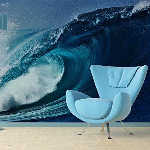 3d wallpaper foto murali - onde burattate - 3d tv divano sfondo muro soggiorno camera da letto pareti della carta da parati 400cm(w) x200cm(h)-8 stripes