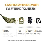 Camping Hammock with Mosquito Net - Outdoor Travel Hammock for Camping Hiking Backpacking 11