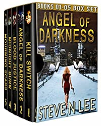 Angel of Darkness Action Thriller Box Set Books 01-05: Action-Packed Revenge & Gripping Vigilante Justice