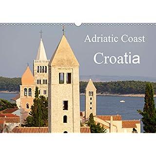 Adriatic Coast Croatia / UK-Version 2020: Highlights of the Adriatic Coast of Croatia from Istria to Dubrovnik (Calvendo Places)