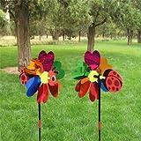 2PCS DIY Animal Bee Ladybug Windmill Kit...
