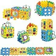 ألعاب التركيب مونتيسوري للأطفال الصغار، مركز أنشطة التعلم المبكر، ألعاب ما قبل المدرسة، ألعاب الأطفال مع موسيق