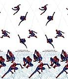 Gardine SPIDERMAN 1 Teil 116B x 165L Kinderzimmer Vorhang