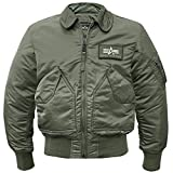 Alpha Industries CWU-45, Gr. S, oliv
