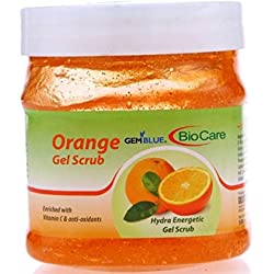 Biocare Orange Gel Scrub Enriched With Vitamin C &Anti-Oxidants