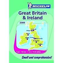 Mini Atlas Great Britain and Ireland 2009 (Michelin Tourist & Motoring Atlases) (Michelin Tourist and Motoring Atlases) by Michelin (2009-01-09)