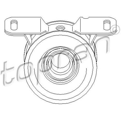 Preisvergleich Produktbild TOPRAN 302 321 Lagerung, Gelenkwelle