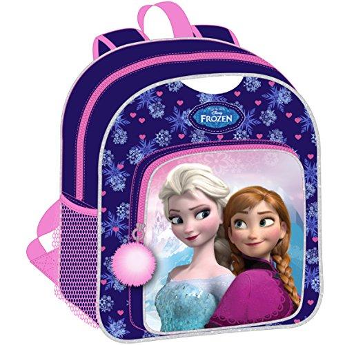 Sac à dos violet et rose La Reine des Neiges Disney