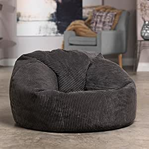 Luxury Jumbo Cord Bean Bag Snuggle Chair Giant Luxury