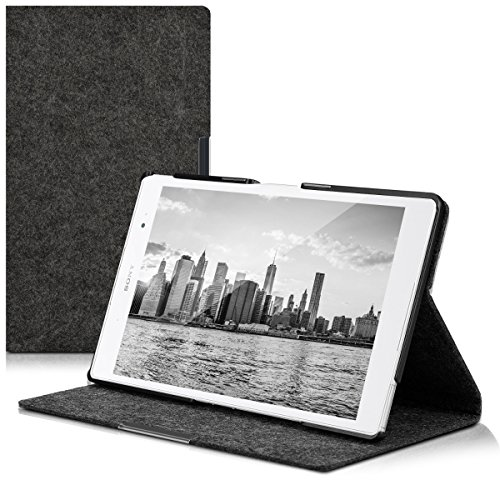 sony xperia z3 tablet kwmobile Sony Xperia Tablet Z3 Compact Custodia - Cover Protettiva per Tablet Sony Xperia Tablet Z3 Compact - Copertina Sottile Tab - Stand Case