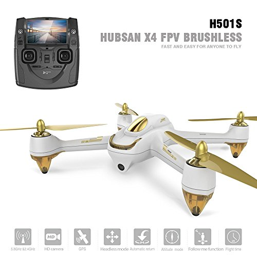 Hubsan H501S X4 Pro Brushless FPV GPS Quadcopter mit 1080P HD Kamera Drone - 2