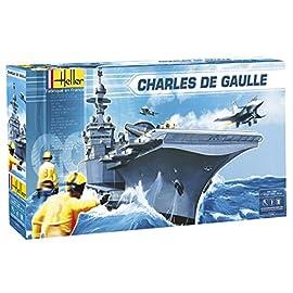 Heller 81009 Importato da Francia Modellino da costruire Nave militare Marceau scala 1:400