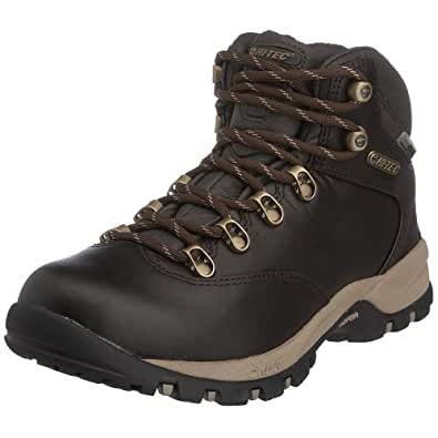 Hi-Tec Vlite Altitude Ultra, Women's Hiking Boots, Chocolate/LightTaupe - Leather Full Grain, 4 UK