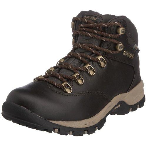 Hi-Tec Vlite Altitude Ultra Luxe Waterproof WPi WPi Hiking, Chaussures randonnée femme Chocolat