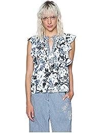 Shirt Desigual Bluse T Amazon Donna E Modashop247 Top it W4AqAcgT7