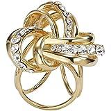 Contever® Accesorios de joyería Clips Aleación Decoración para Bufanda De Anillo Hebilla Broches (Oro)