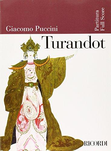 Turandot: Full Score (Ricordi Opera Full Scores)