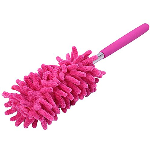 Auifor Telescopic Microfibre Duster Extendable Cleaning Home Car Cleaner Dust Handle -