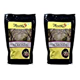 #6: Healthy Feast Natural California Almonds 250 Grams- Pack of 2