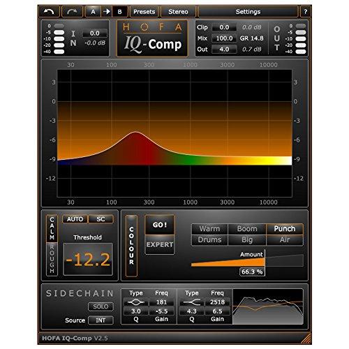 HOFA IQ-Series Comp | Die beste Kompression für Stimme, Drums, Bass und Mastering
