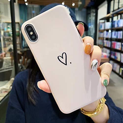 SUNHAO iPhone 6 7 8 Plus Xsr MAX-Hülle Ultradünne Silikonhülle für Zwei in einem Handy
