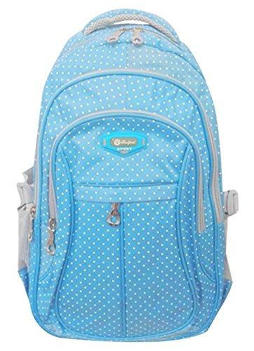 sellerfun-mochila-de-estudiante-multifuncional-con-manchas-para-chica-y-nia-azul-l