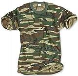 Classic Army Style T-Shirt Kurzarm Woodland S - 3XL