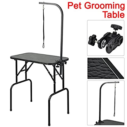 Beyondfashion 75cm x 46cm x 82cm Portable Foldable Dog Pet Large Grooming Table Excellent Working Platform Waterproof… 1