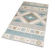 DomDeco In- und Outdoor-Teppich Cool Nordic Pattern 150 x 80 cm Kunststoff für Innen und Außen
