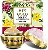 StBotanica 24K Gold Face Mask (Vitamin C, Retinol, Hyaluronic acid) Skin Brightening, Firming