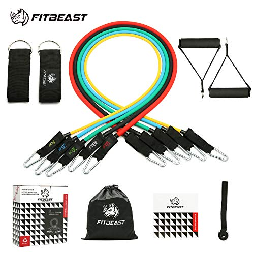 Exercise Resistance Bands Set, F...