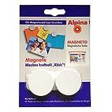 Alpina Farben Spezialfarbe Magnetfarbe Magneto Magnete-Set (à 2 Stck.) 1 Set