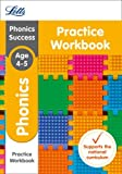 Letts KS1 Revision Success - New Curriculum – Phonics Ages 4-5 Practice Workbook