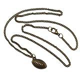 American Football Halsketten Anhänger - Amulett