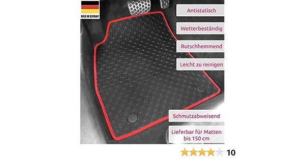 - EXTRA 2004-2009 Velours Fußmatten // Autoteppich Suzuki Alto VI