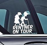 Rentner on tour - Opa und Oma Funny Auto Princess Vinyl Sticker Car Jdm OEM Vertical Sticker Bomb Stickers Decals Tuning Sticks
