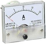 85c1 - a clase 2,5 precisión DC 0-20A analógico amperímetro con pantalla de gran calibre