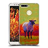 Official Marion Rose Suffolk Abstract 2 Sheep Soft Gel Case