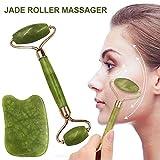 Outil de massage Jadewalze - Appareil de massage anti-âge - Pour le visage - Pour les bras du cou et les jambes arrière - Charmant