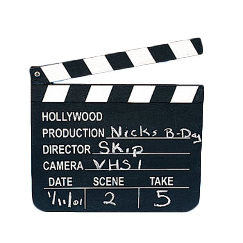 Ciak in legno da regista Partyrama