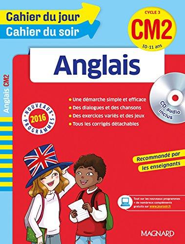 Cahier du jour/Cahier du soir Anglais CM2 - Nouveau programme 2016 par Collectif