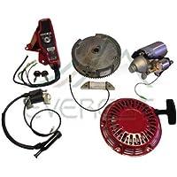 EVEREST Marca HONDA GX160 5.5HP & GX200 6.5HP elettrico Starter Kit Motore con Recoil Bobina volano di accensione Switch Box con i tasti