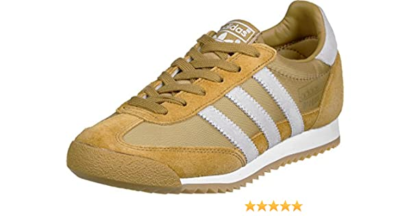 buy online c1607 06689 adidas Dragon OG chaussures Mesa  Blanc, 44 2 3  Amazon.fr  Chaussures et  Sacs